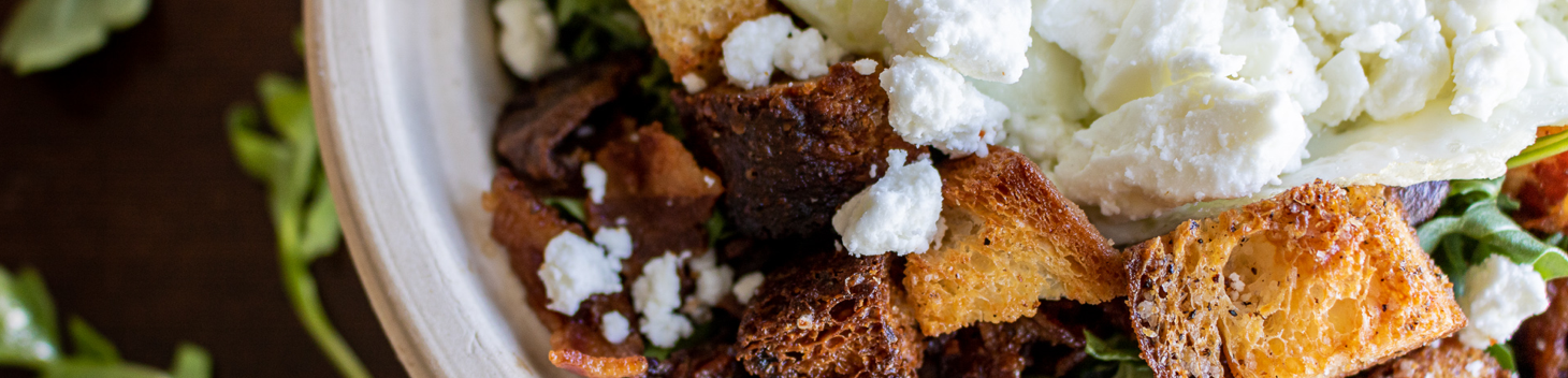 PIcture of a Salad with Feta Cheese