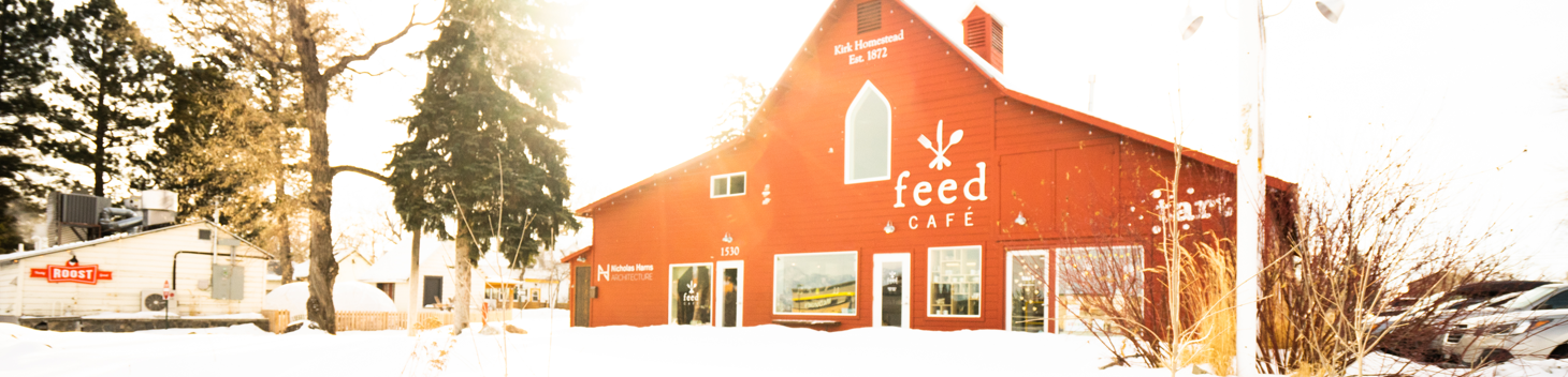 Feed Cafe in the Red Barn